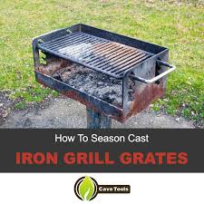 How To Season <b>Cast Iron Grill</b> Grates - <b>Grill</b> Master University