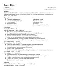 resume examples  hair stylist sample resume hair stylist resume        resume examples  hair stylist sample resume with summary and highlights or experience in cuts by