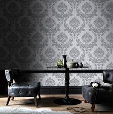 grey wallpaper graham