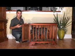 glendale woodworking custom furniture style dog crate youtube furniture style dog crates