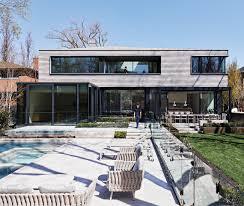 AKB <b>Crafts</b> a <b>Minimalist</b> Roofline for a Spacious North Toronto Home