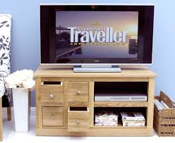 mobel oak oak tv stands furniture baumhaus mobel solid oak mounted widescreen