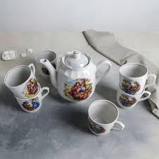 <b>Набор чайный</b> «Мадонна», <b>8 предметов</b>: чайник 1,75 л, блюдо d ...