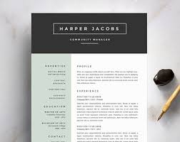 Creative resume template       Creative cover letter     Pinterest