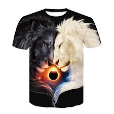 <b>Wolf</b> Warrior by SunimaArt 3D T shirts Men T shirts <b>New</b> Design ...