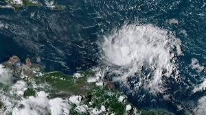 Hurricane Dorian Rakes Treacherous Path through the Caribbean