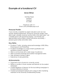 sample of functional resume examples sample skills example is one cover letter sample of functional resume examples sample skills example is one the best idea for