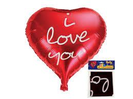 <b>Шар Action</b>! <b>фольгированный I</b> love you, cердце, 47*51 см купить ...