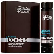 L'Oreal Professionnel /0213450/ HOMME <b>Тонирующий гель</b> Cover ...