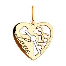 <b>Подвеска</b> из золота «<b>Love</b>» <b>SOKOLOV</b> – купить в официальном ...