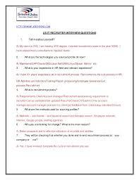 us it recruiter interview questions com us it recruiter interview questions 1