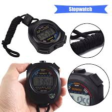 Hot! <b>Waterproof Digital LCD</b> Stopwatch Chronograph Timer Counter ...