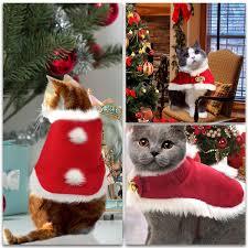 <b>Christmas</b> Party <b>Pet Cloak</b> Kitty Costume <b>Cat</b> Shawl <b>Cloak Cat</b> Santa ...