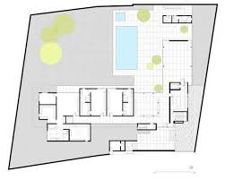 Modern house plans  Site plans and House plans on PinterestShaped House Site Plan