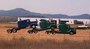 Image result for semi truck pulled over by cops