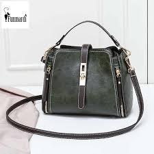 <b>FUNMARDI</b> Fashion Women Crossbody Bag Lock Design Women ...