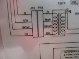wiring help replacing transformer pentair minimax nt heater today of my actual label to clarify even though i reversed the order of 1 4 red shows on top and black bottom still they are in the same order on the