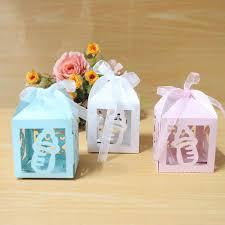 <b>AVEBIEN</b> 50pcs <b>Cute</b> Cartoon Boy & Girl Baby Shower <b>Candy Box</b> ...
