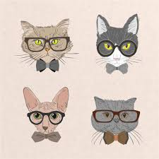 Free <b>Hipster Cat</b> Vectors, 400+ Images in AI, EPS format