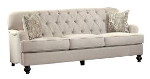 Button Couch Amazoncom Homelegance Clemencia Classic Button Tufted English