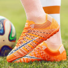 Men <b>Soccer</b> Shoes Sport Ronaldo Breathable Women <b>Spikes</b> ...