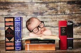 Image result for sleeping on books