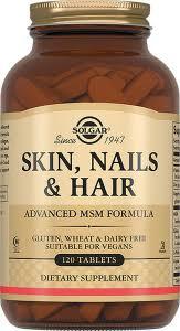 <b>Кожа</b>, <b>волосы</b>, ногти, 120 таблеток, <b>Solgar</b> - купить Skin, Nails ahd ...