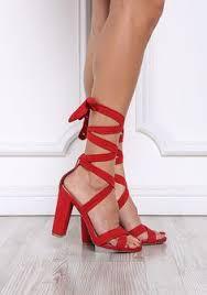 <b>Women's Sandals</b> Summer Square heel Lace Mesh <b>Flock Round</b> ...