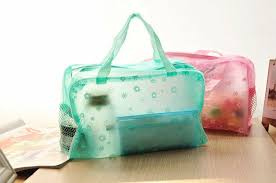 Buy Protable New Women Clear <b>Waterproof Makeup Storage</b> ...