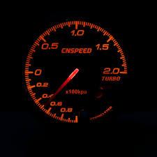 <b>Free Shipping CNSPEED 60MM</b> Auto turbo boost gauge 1 2Bar ...
