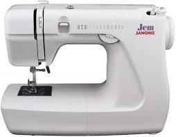 Швейная машина <b>Janome Jem</b> 639 <b>белый</b> — купить недорого с ...