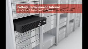 <b>CyberPower</b> Battery Replacement Tutorial for <b>Online</b> S Series 1,000 ...