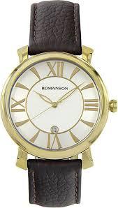 Наручные <b>часы Romanson</b> TL1256MG(<b>WH</b>)BN — купить в ...