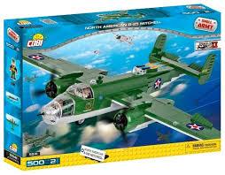 <b>Конструктор Cobi</b> Small Army World War II 5541 <b>Самолет</b> B-25 ...