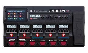 <b>Zoom</b> G11 – новый универсальный <b>гитарный процессор</b> ...