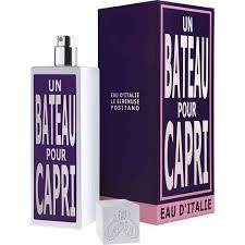 <b>Eau d'Italie: Un Bateau</b> pour Capri EDT - Etiket