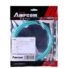 AMPCOM 10Gb Multumode Duplex 50 125 LZSH Fiber Cable LC to ...
