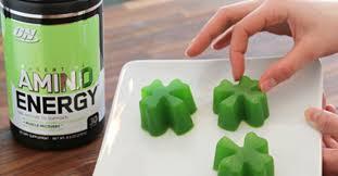 <b>AMINO ENERGY GREEN</b> APPLE GUMMIES | <b>Optimum Nutrition</b>