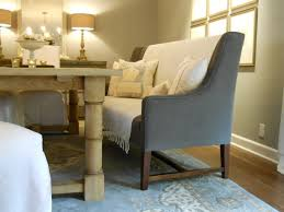 room table bench storage dining room with banquette and bench breakfast area furniture