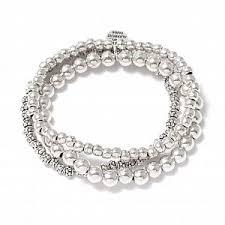 <b>Набор браслетов</b> с круглыми бусинами - купить за 8 200 руб. в ...