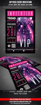 vip club event invitation graphics portrait and invitation cards templates · vip club event invitation