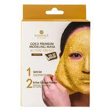 Маска для лица `SHANGPREE` PREMIUM <b>Золотой гель</b> с ...
