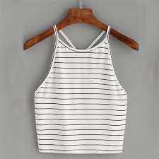 2019 Fashion <b>Summer</b> New Fashion Women <b>Sexy Striped</b> Tank Top ...