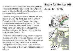 revolutionary war part   jpgcb revolutionary war part   battle for bunker hill