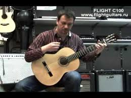 <b>Гитара Flight</b> C - 100, как звучит <b>классическая</b> гитара - YouTube