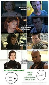 ResidentEvil #RE #Memes #LOL {...} Imagen | @dav_sic en Taringa! via Relatably.com