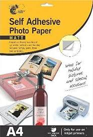 <b>Self Adhesive</b> Matt Photo Paper, Pictures, Photos: Amazon.co.uk ...