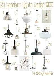 20 great pendant lights under 100 kitchen lighting 320 sycamore amazing 20 bright ideas kitchen lighting