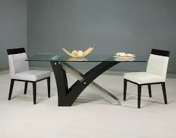 dining table popular interior beautiful brown white wood glass cool design glass top dining table interior amazing glass table top