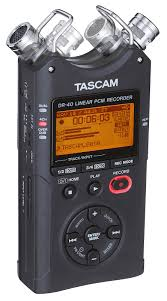 <b>Tascam</b> DR-40 | <b>Портативный рекордер</b> в формате PCM/MP3